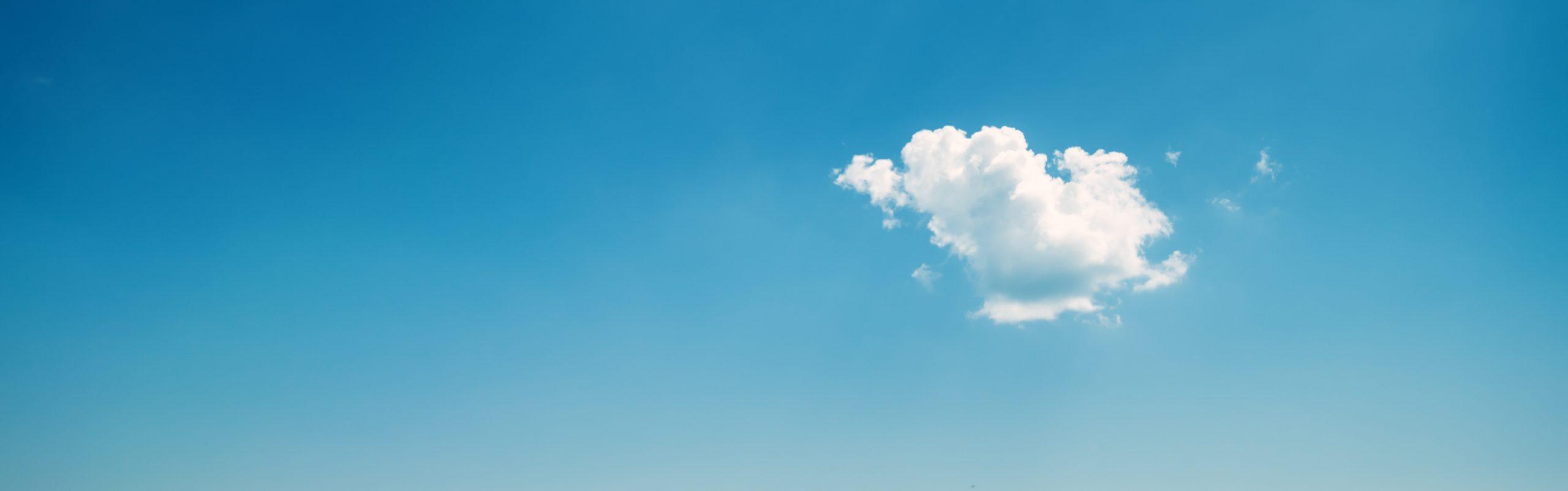 A picture depicting cloud services